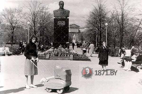 Памятник Грицевцу Минск, 1961