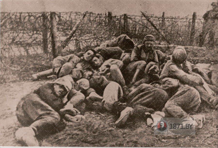 Шталаг 337 Барановичи, пленные солдаты