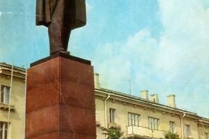 Барановичи, Памятник В. И. Ленину, 1978