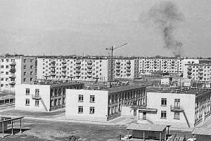 +img037, 1970 год,  Южный микрорайон. Снимок сделан в сторону ул. Притыцкого