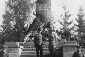 Открытие памятника Артуру Буолю
