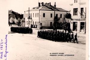г. Барановичи, ул.Советская, Военный парад