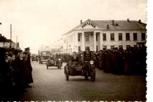 Барановичи. Мотопробег Варшава-Москва-Варшава 21.04.1953 г.-06.05.1953 г.