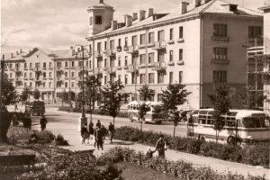 Барановичи, Городская площадь Ленина