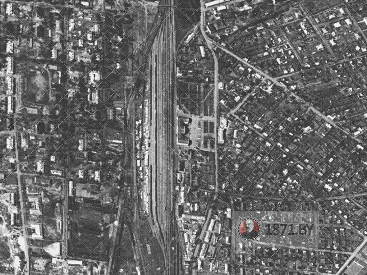 Барановичи, спутниковая съемка 23.04.1966