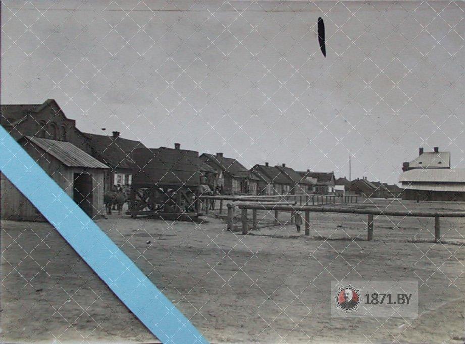 Рыночная площадь. Барановичи