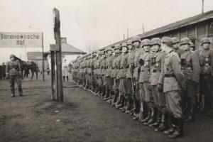 Немцы на станции Барановичи-Центральные