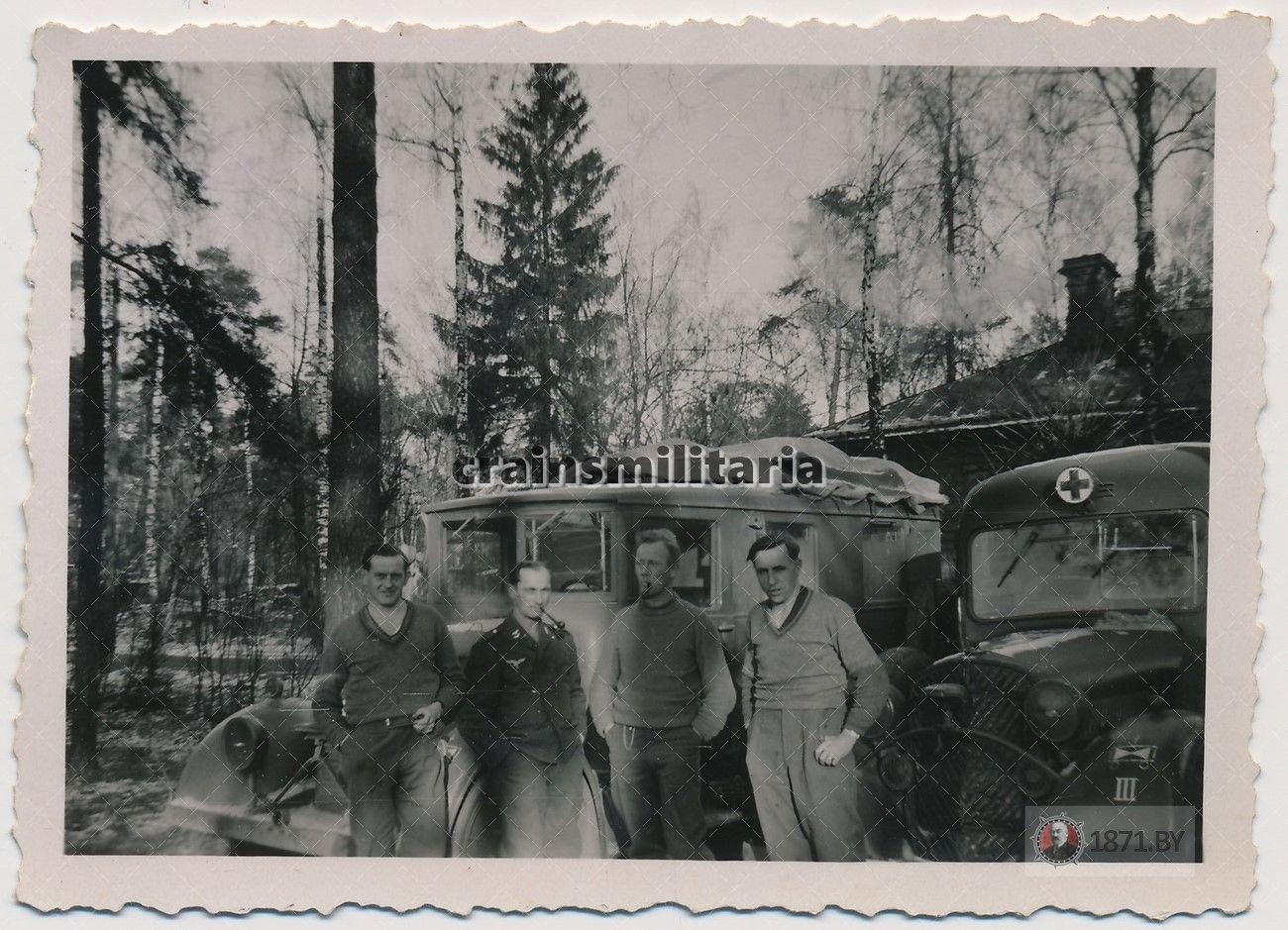 Санитарная служба, вермахт, Барановичи