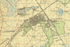 Одноверстовая карта Беларуси