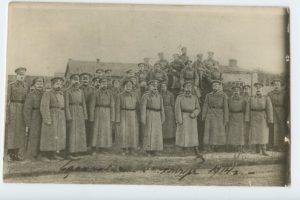 Государь император среди офицеров гг. лейб-гусар, Ставка 24 Окт 1914, Барановичи