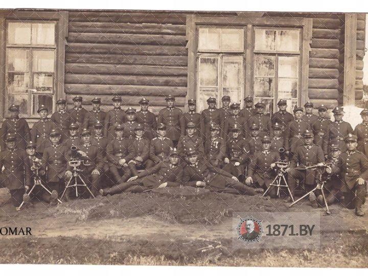 78 полк пехоты возле казарм
