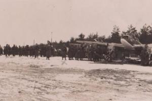 Аэродром под Барановичами, возле деревни Грабовец