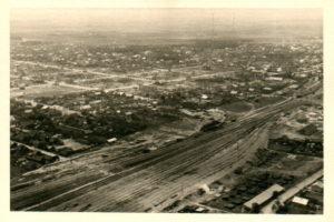 Общий вид на город Барановичи 1941