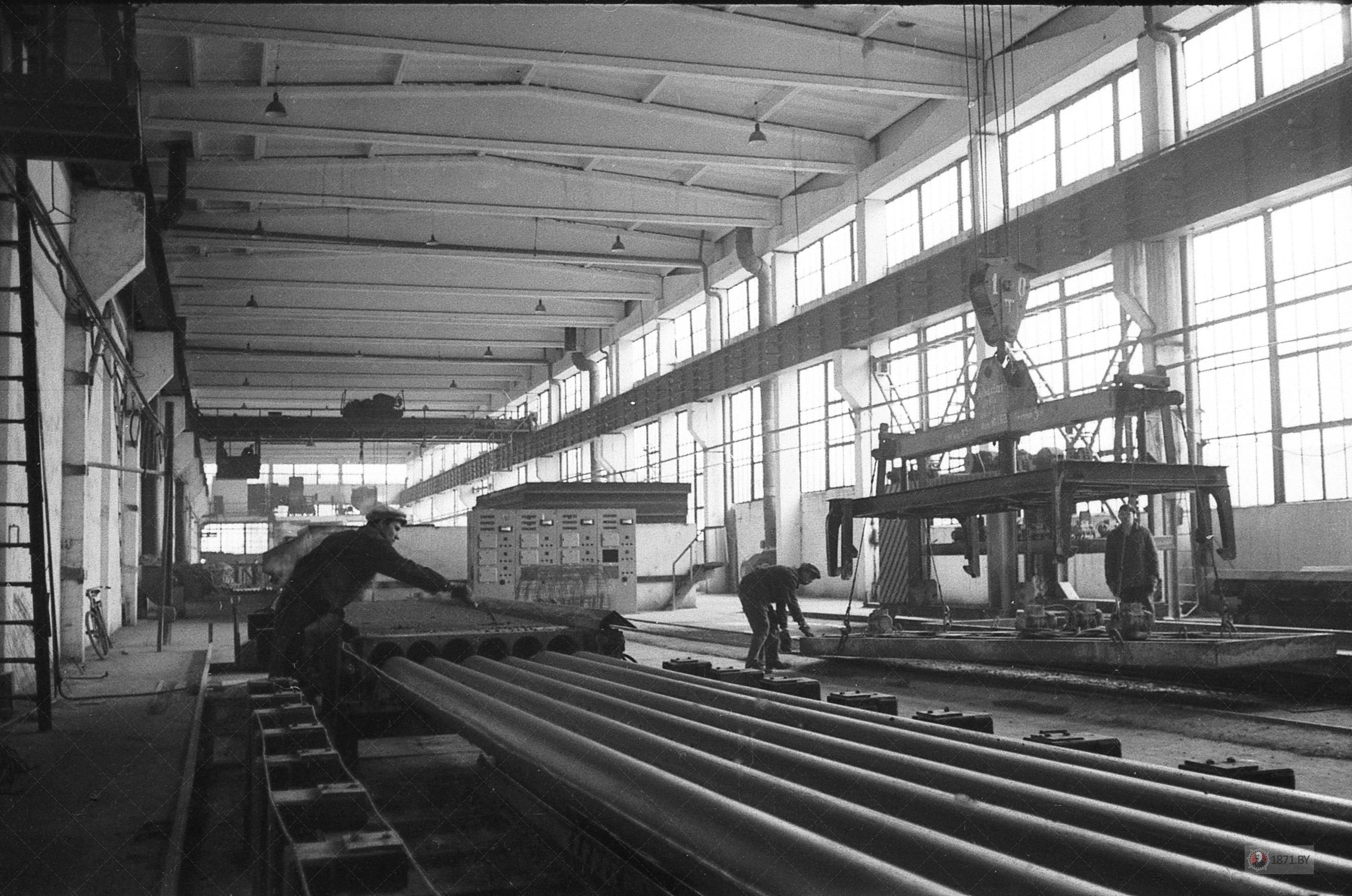 1971 год. Производство отличается высоким уровнем культуры и автоматизации.