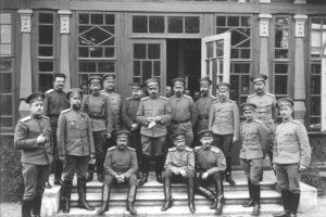 в Ставке Верховного главнокомандующего, Барановичи, 1914
