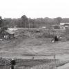 1986, (панорама) Строительная площадка на которой предусмотрено возведение нового автовокзала (КП-14206)