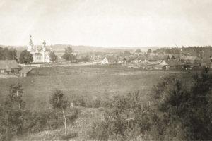 Молчадь. Общий вид. 1916 г.