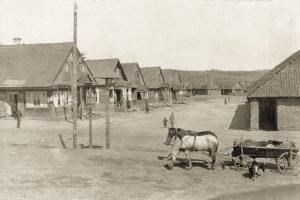 Деревная Молчадь, общий вид на деревенские улицы