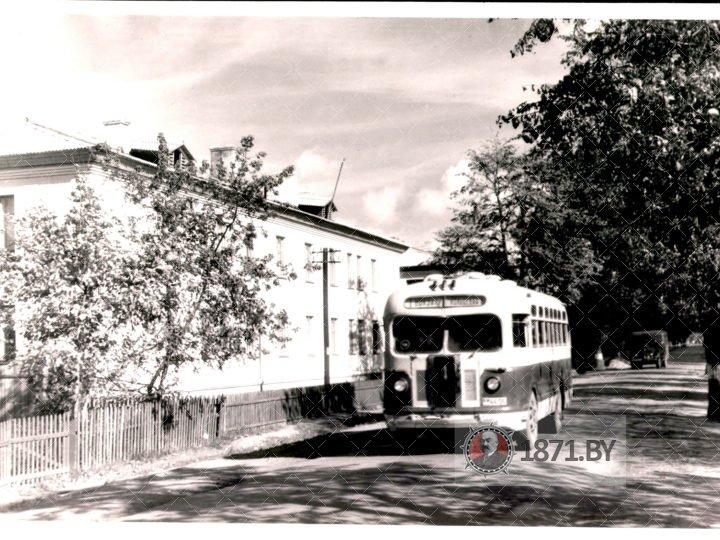 Жилые дома по ул. Шоссейной (Сегодня – ул. Брестская). 1957 г. Барановичи