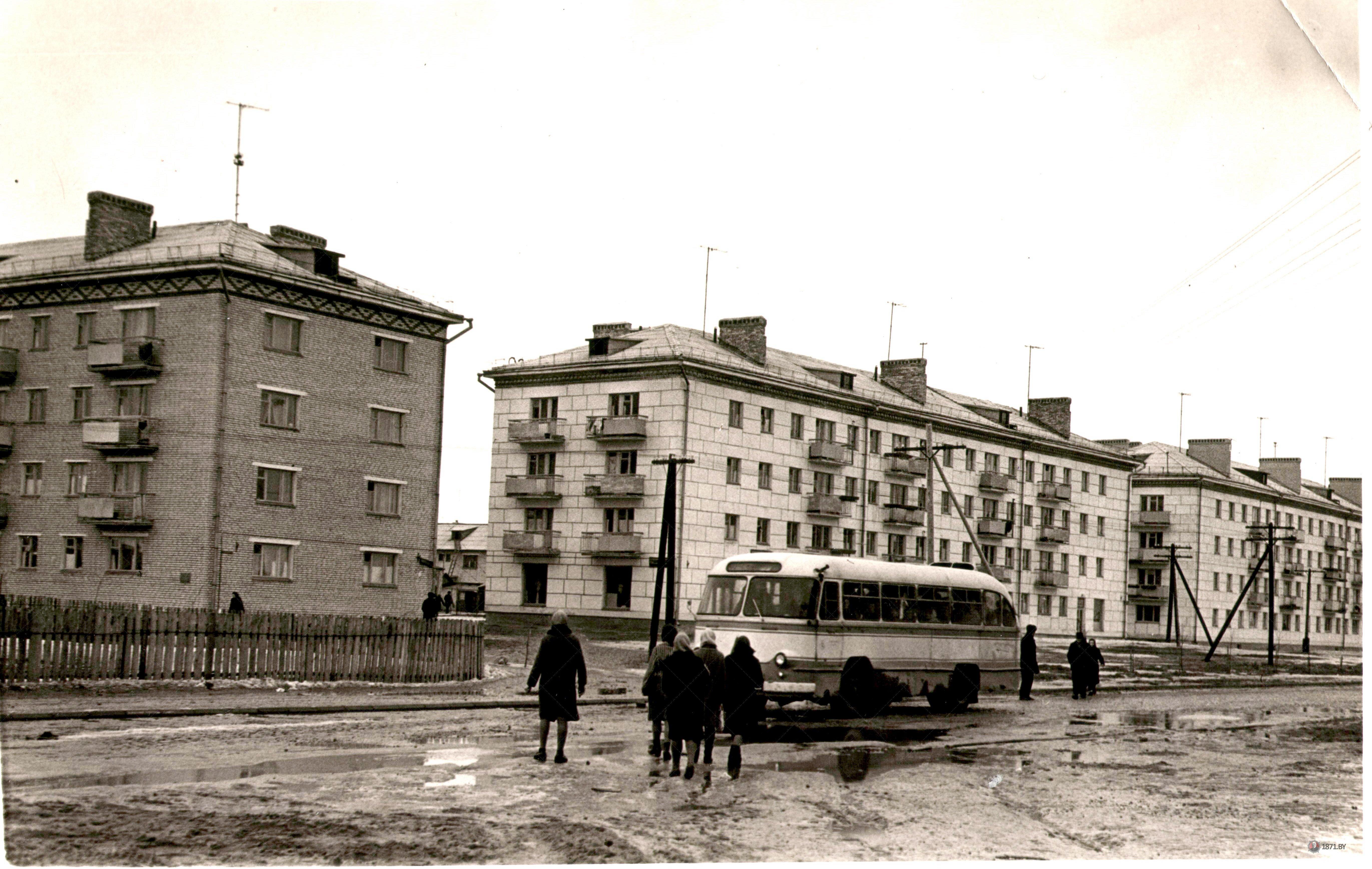 Барановичи, Рабочий посёлок хлопчатобумажного комбината. 1965 г