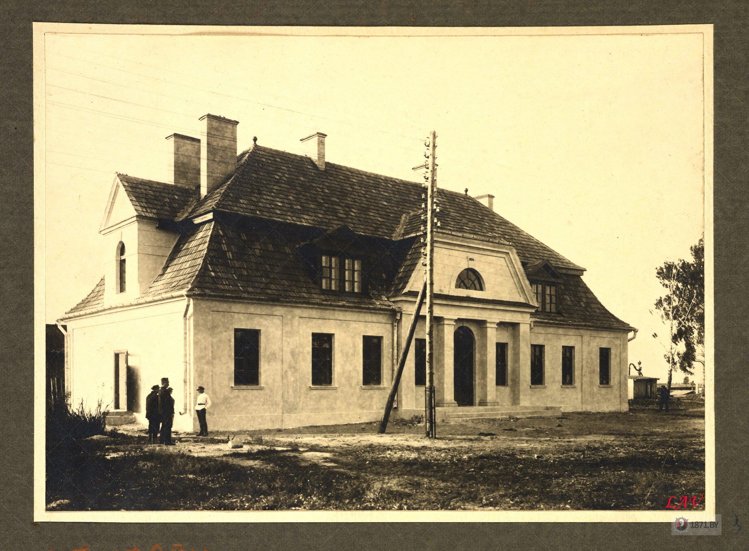 Lasnaja,_Čyhunačnaja._Лясная,_Чыгуначная_(1925) L