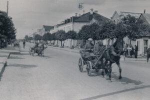 Барановичи (Baranowitschi). Марынская улица, 1941