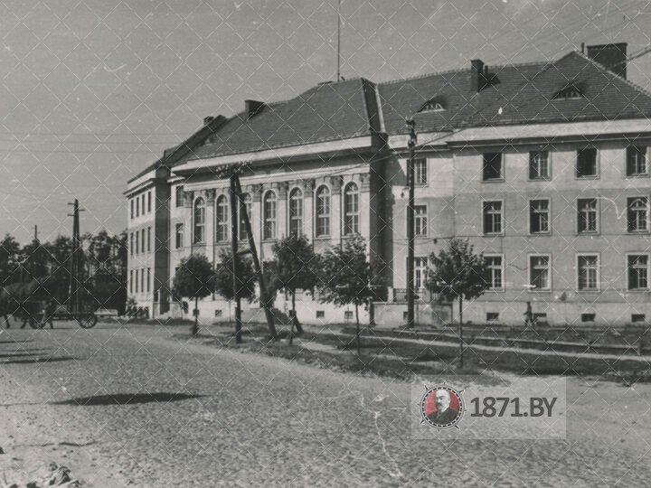 Гебитскомиссариат (Бывший Банк)