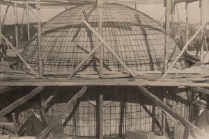 Строительство купола Свято-покровского собора
