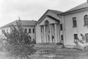 Барановичи. Родильный дом, 1955